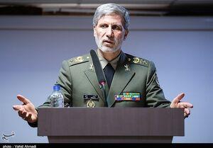 وزیر دفاع: ۹۰ درصد تجهیزات دفاعی ما ساخت داخل است