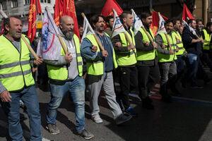 عکس/ اعتصاب سراسری در یونان