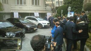 عکس/ رونمایی از چند خودروی داخلی با حضور روحانی