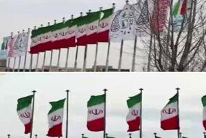 گزارش جالب «المیادین» از اهتزاز «پرچم ایران» در سراسر تهران +فیلم