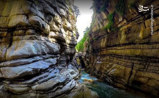 عکس/ دره محبوب صخره نوردان در گیلان