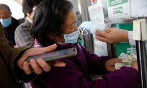 ابتلا به کرونا در چین برای نخستین بار کاهش یافت
