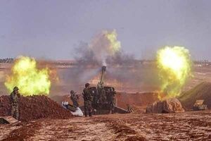 شنیده شدن صدای انفجار مهیب در حلب سوریه