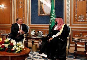 دیدار وزیر خارجه آمریکا با بن سلمان