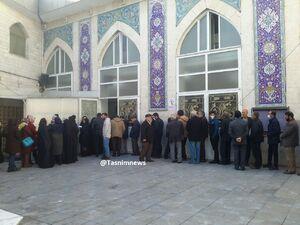 عکس/ صفوف رای در مسجد امام صادق (ع) ستارخان