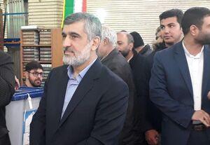 عکس/ سردار حاجیزاده در صف رای