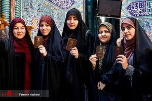 عکس/ حضور پرشور مردم تهران در انتخابات