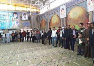 عکس/ حضور پرشور مردم آبادان در انتخابات