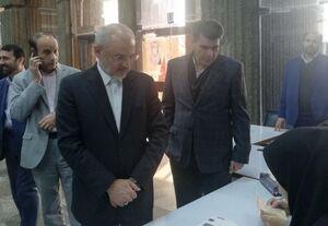 عکس/ وزیر آموزش و پرورش در شعبه اخذ رای