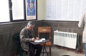 عکس/ حضور سردار جعفری، فرمانده سابق سپاه در مسجد قبا