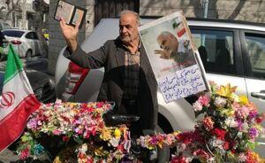 عکس/ من هم یک سرباز شهید قاسم سلیمانی هستم