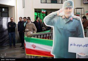 عکس/ حضور میرسلیم پای صندوق اخذ رای در مسجد قبا