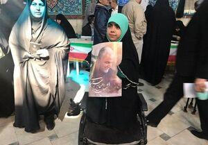 عکس/ یک دختر با غیرت ایرانی