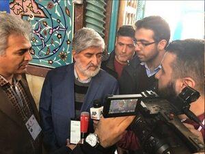 عکس/ علی مطهری در حسینیه ارشاد