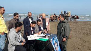 عکس/ صیادان مازندرانی پای صندوق رای