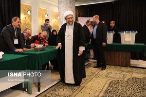 عکس/ حضور مسئولان در انتخابات ۹۸
