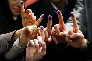 گزارش المیادین از حضور گسترده مردم پای صندوقهای رای