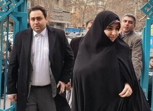 عکس/ حضور دختر و داماد رئیس جمهور در انتخابات