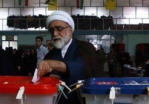 عکس/ تولیت آستان قدس رضوی در حال رای دادن