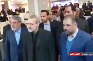 فیلم/ بازدید رئیس مجلس از ستاد انتخابات کشور