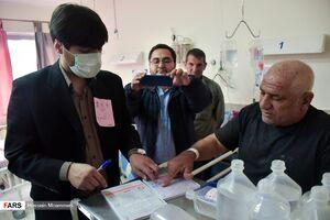 عکس/ اخذ رأی در بیمارستانهای بجنورد