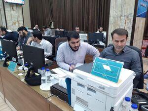 عکس/ نظارت آنلاین شورای نگهبان بر انتخابات
