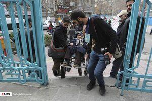 عکس/ تحمل سختیها به شوق انتخابات
