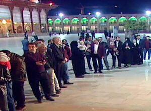 عکس/ شور رای دادن شیرازیها در ساعات پایانی