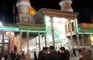 فیلم/  آخرین ساعات رای گیری در حرم شاه عبدالعظیم حسنی