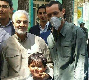 آخرین حضور سردار سلیمانی پای صندوق رای +عکس