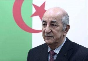 درخواست رئیس جمهور الجزایر در قبال سوریه