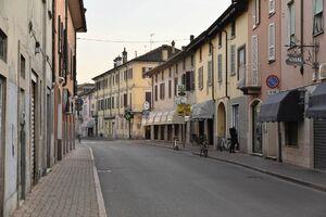 تعطیلی شهرهای ایتالیا به دلیل مبتلای ۱۶ نفر به کرونا +عکس