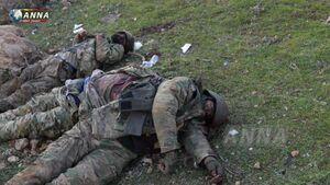 هلاکت ۶۴ تروریست در حومه ادلب