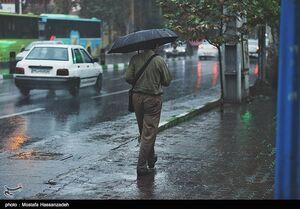 پیش بینی بارش باران در اکثر مناطق کشور