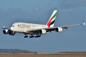 فرود دو هواپیمای باری اماراتی در پایگاه نظامی لیبی