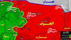 خشم سعودیها از شکستهای سنگین مزدوران در شمال یمن/ رزمندگان یمنی در آستانه ورود به مرکز استان الجوف + نقشه میدانی و عکس