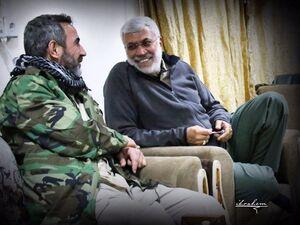 تصویری زیبا از ابو مهدی و ابو فدک