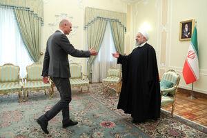 دیدار وزیر خارجه هلند با دکتر روحانی
