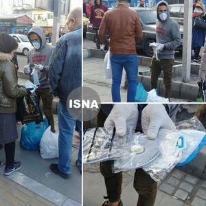 عکس/ فروش ماسک در خیابان