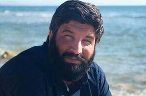 تشییع پیکر اصغر پاشاپور در حماه سوریه +فیلم