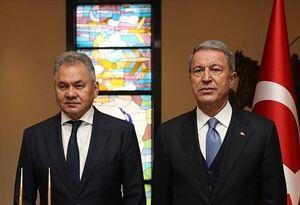 وزرای دفاع روسیه و ترکیه