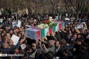 عکس/ مراسم تشییع شهید مدافع حرم «بابالخانی»