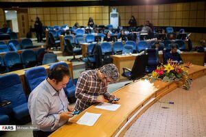 عکس/ حالوهوای ستاد انتخابات در وزارت کشور