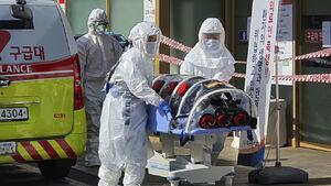 عکس/ برانکارد ویژه حمل بیمار کرونا در کره جنوبی