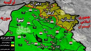جدیدترین تحولات میدانی عراق/ دفع حملات سنگین عناصر مخفی داعش در شمال شرق استان دیاله با ۸ شهید و زخمی+ نقشه میدانی
