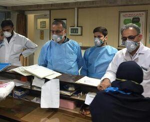 عکس/ بازدید دکتر زاکانی از بیمارستان کامکار قم