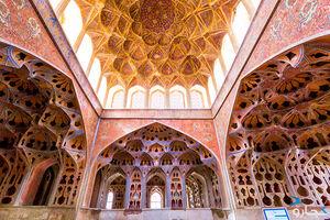 عکس/ عالی قاپو دریای هنر ناب ایرانی