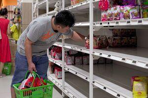 عکس/ قفسههای خالی فروشگاههای سیاتل آمریکا