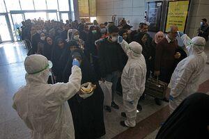 عکس/ فرودگاه نجف پس از شیوع کرونا
