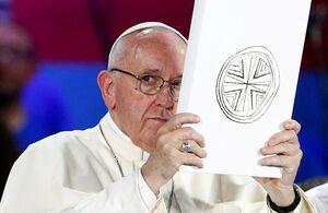 پاپ تلویحا از «معامله قرن» انتقاد کرد